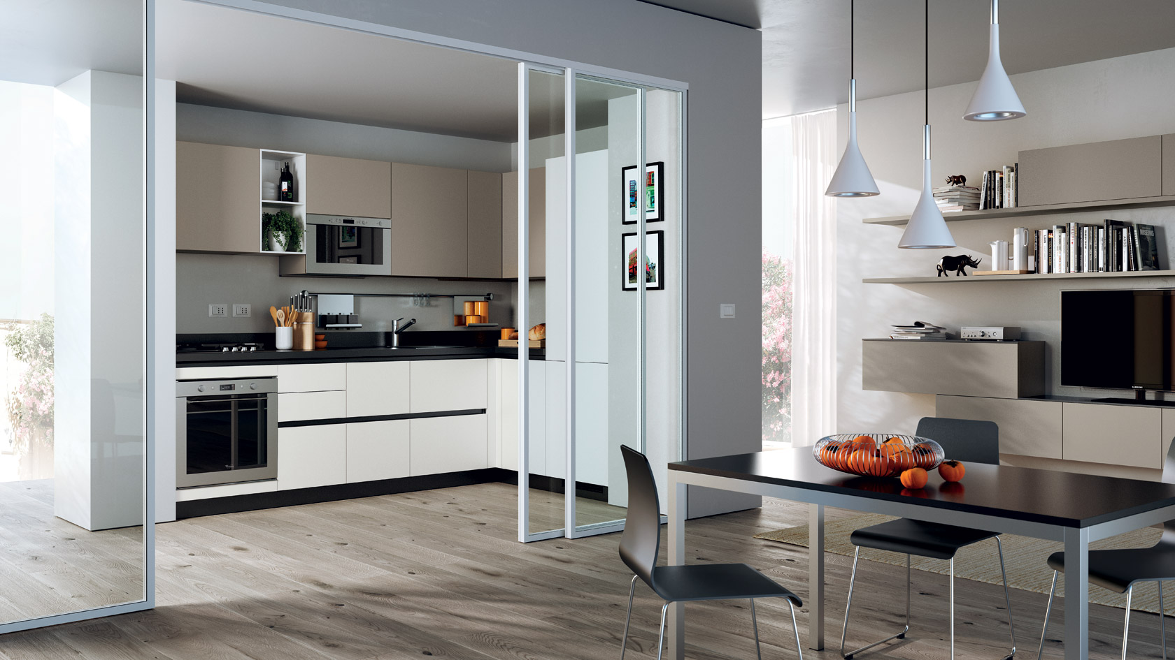 Awesome Cucina A Scomparsa Scavolini Gallery - Embercreative.us ...