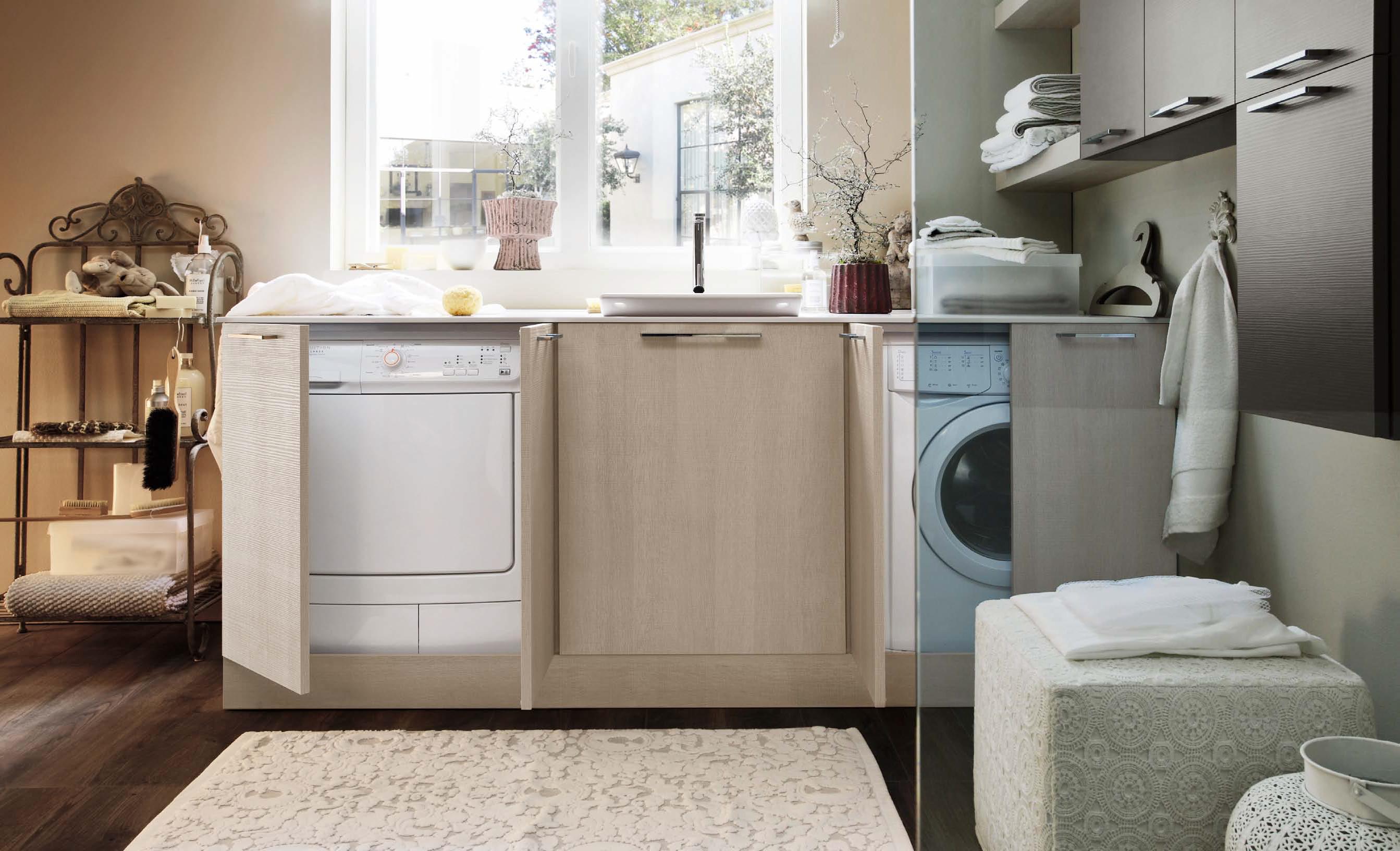 Ville moderne con tetto spiovente - Mobile lavatrice asciugatrice ikea ...
