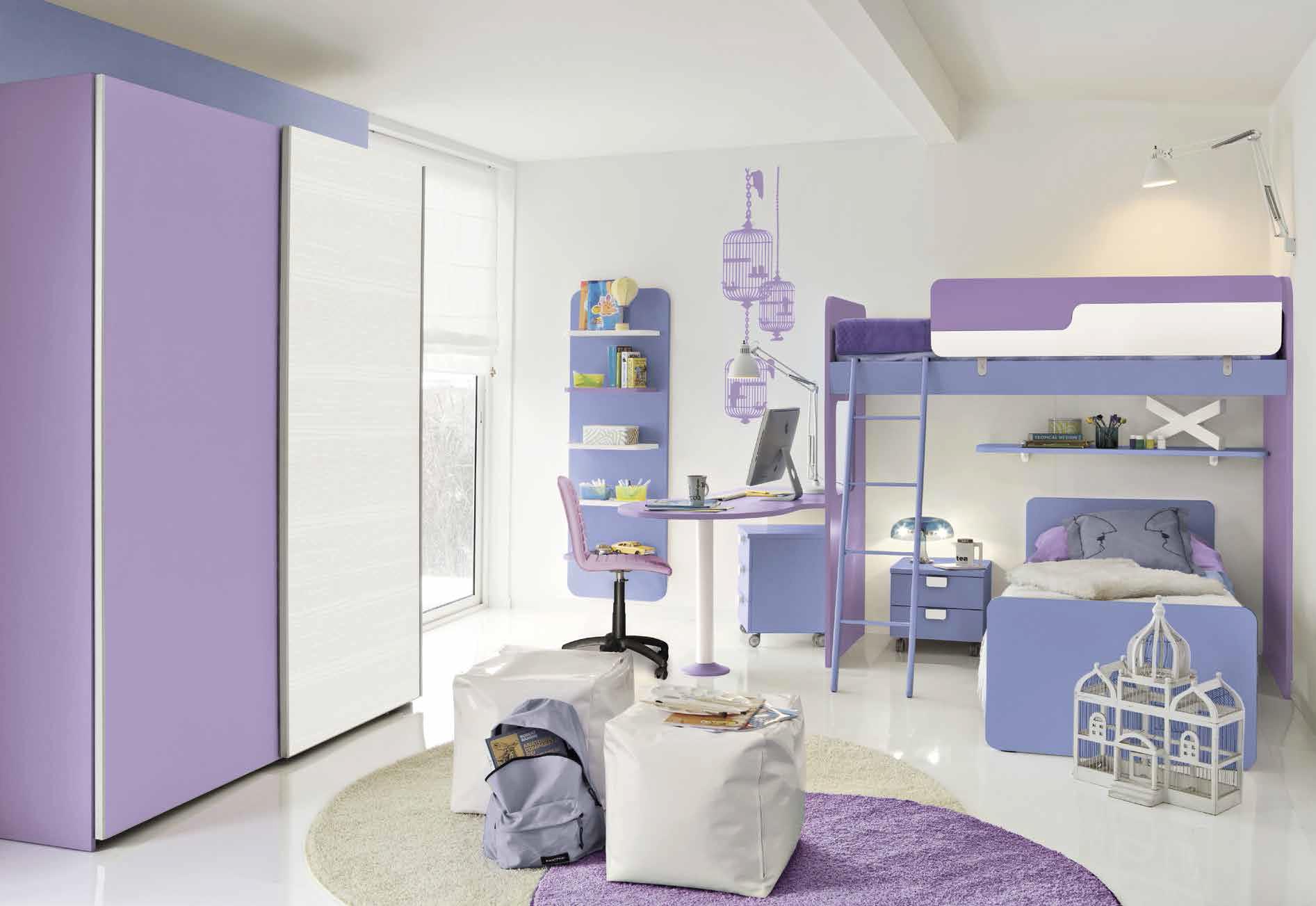 Ponti letti a castello soppalchi soluzioni - Immagini camerette per bambini ...