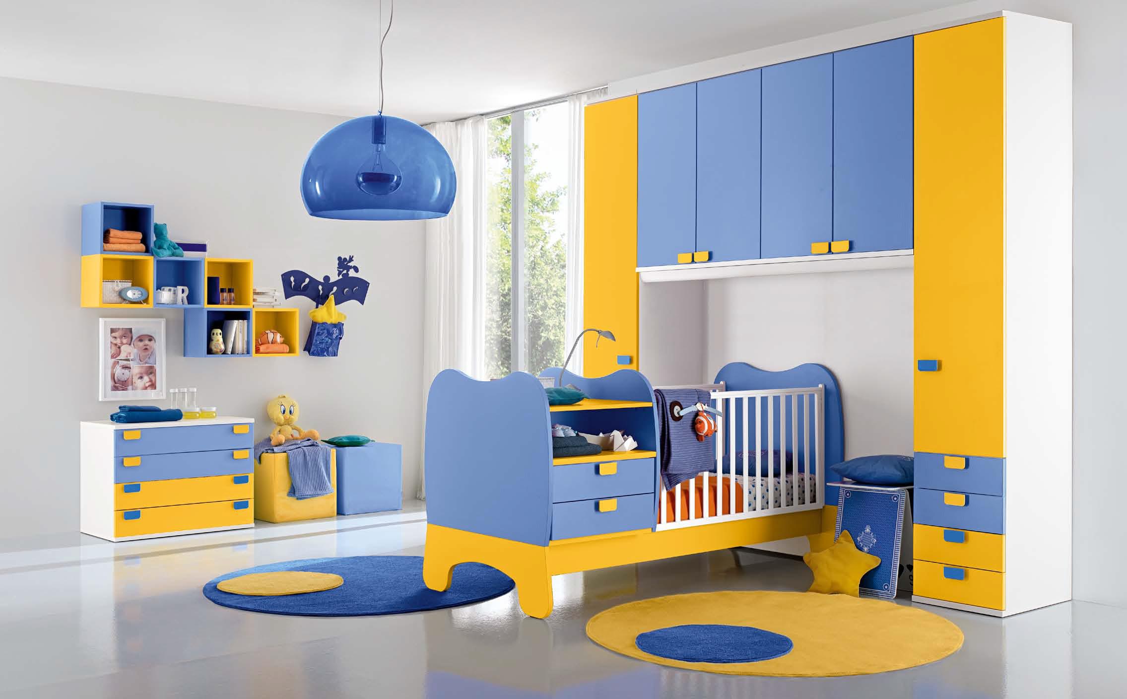 Culle e fasciatoi per la cameretta del vostro bambino for Stanzette moderne