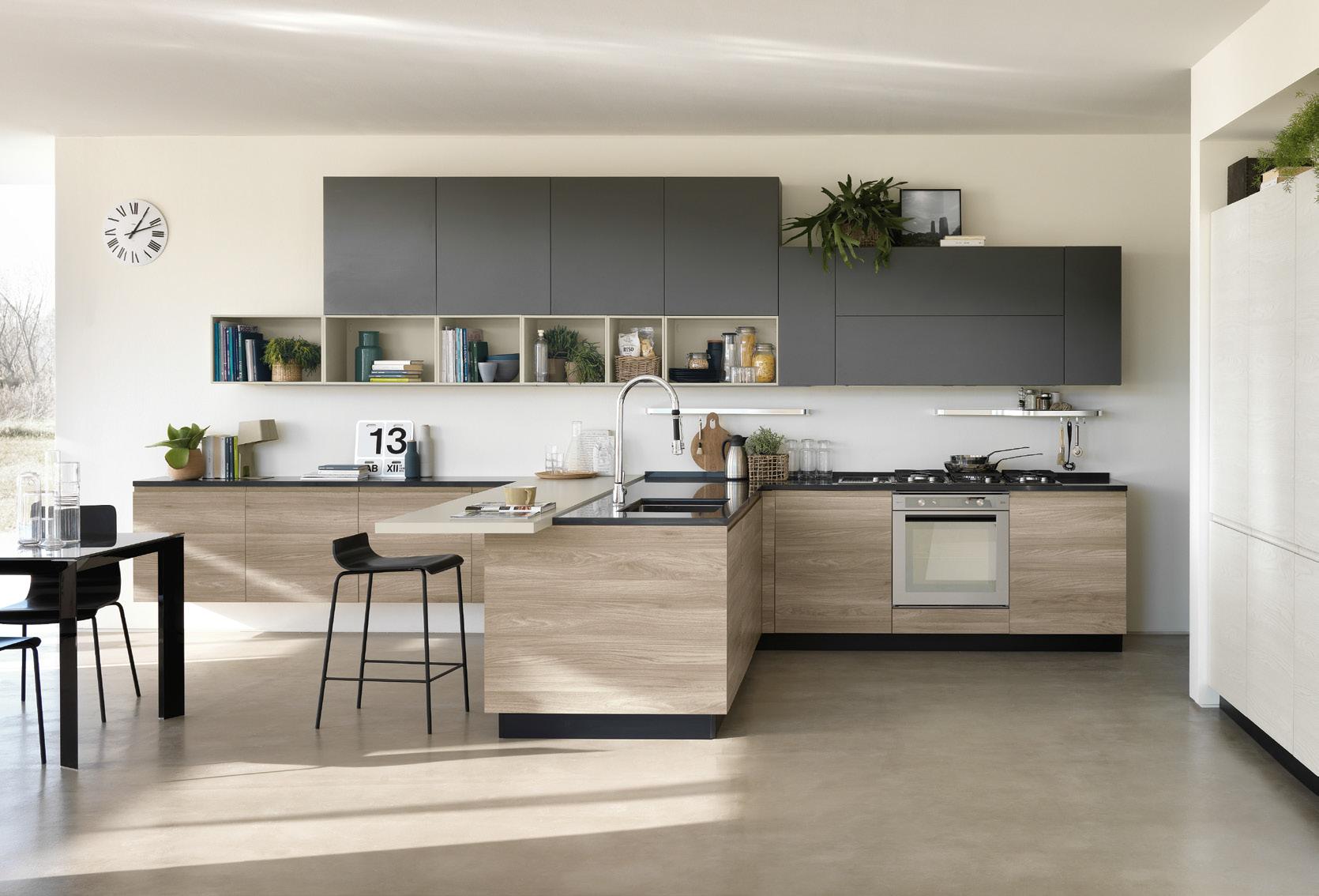 Mondo convenienza cucina stella rovere grigio - Mondo convenienza accessori cucina ...