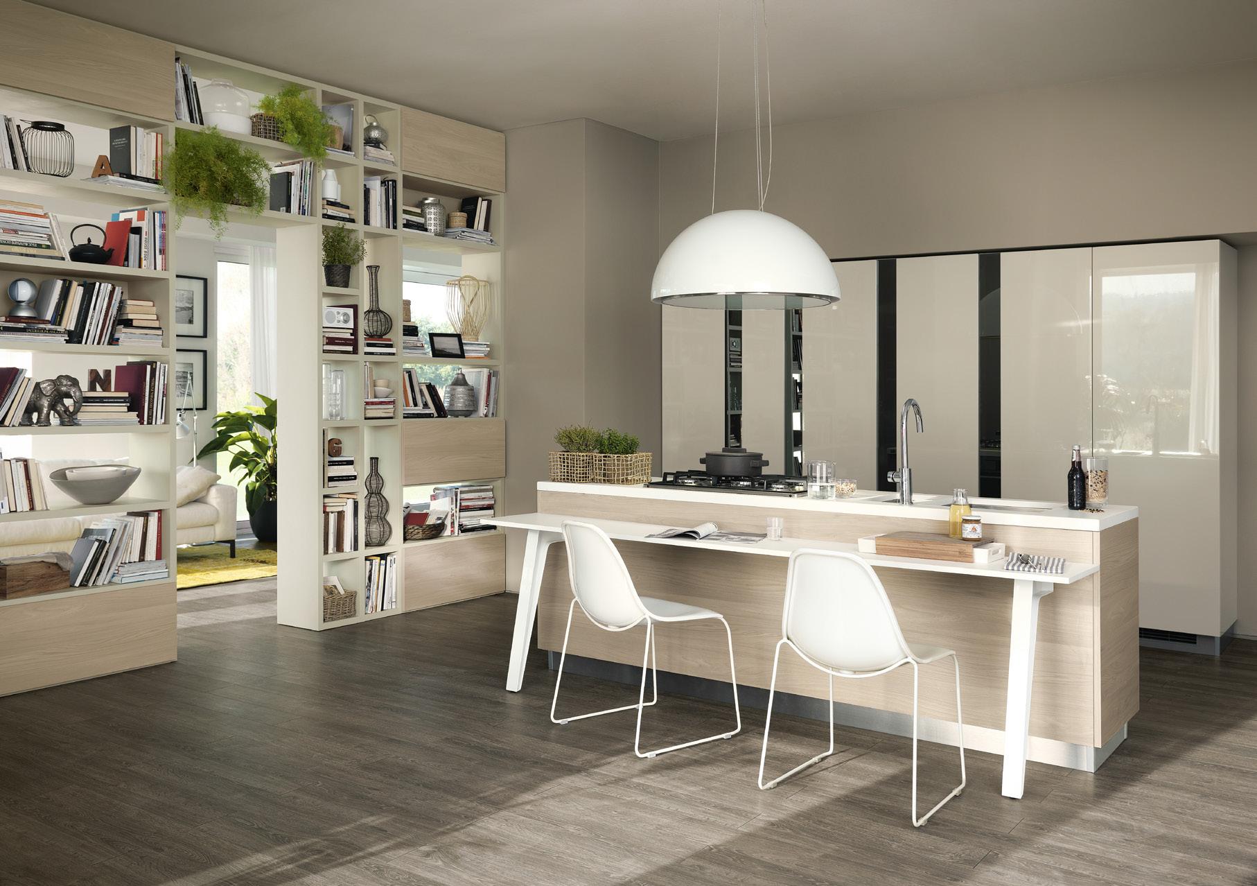 Cucina motus scavolini centro mobili - Mobili living scavolini ...