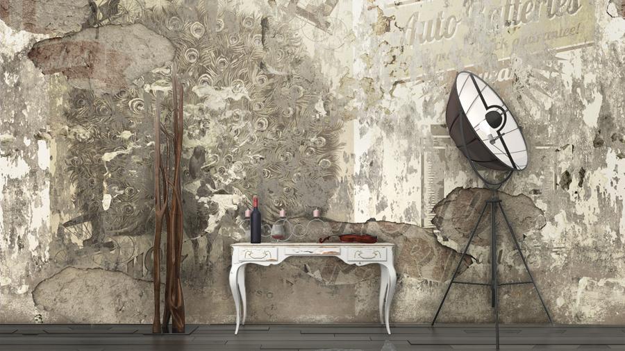 Carte da parati rivestimento pareti centro mobili for Carta da parati adesiva effetto muro