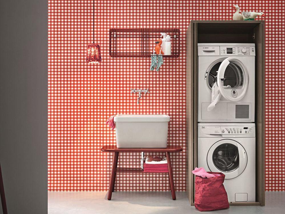Mobili per la lavanderia - Arredo lavanderia - Centro Mobili ...