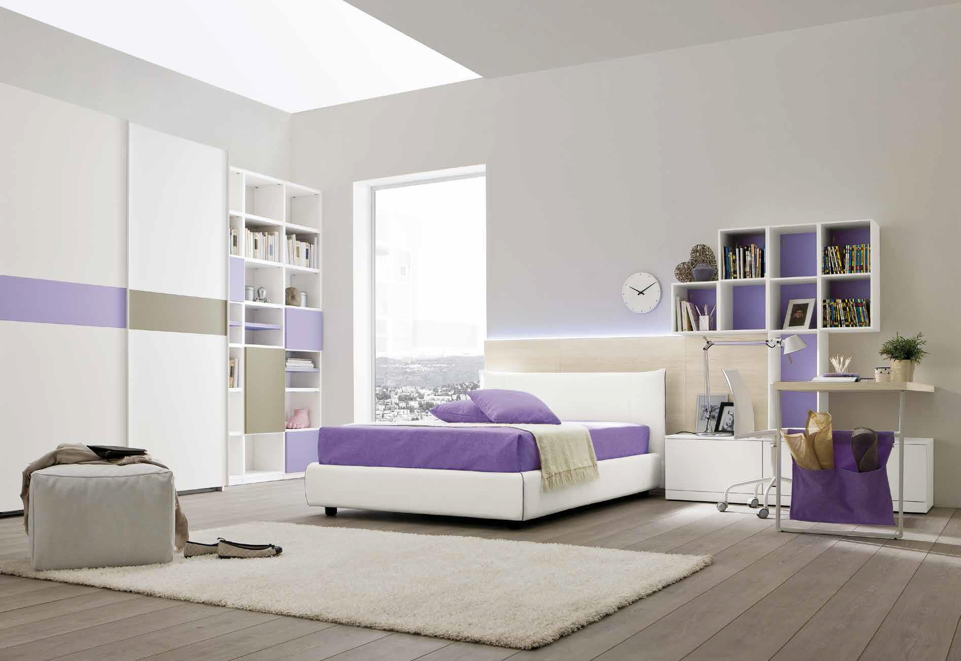 Camerette tradizionali letti e arredamento bambini centro mobili godiasco salice terme pv - Angolo studio in camera da letto ...