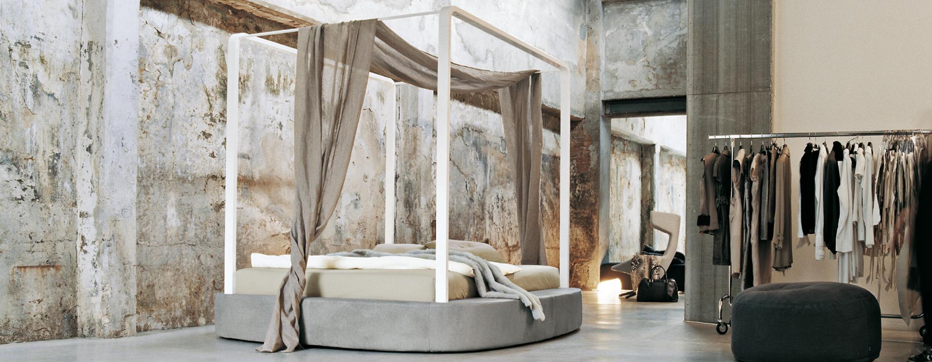 Kira letto a baldacchino twils centro mobili - Baldacchino letto ...
