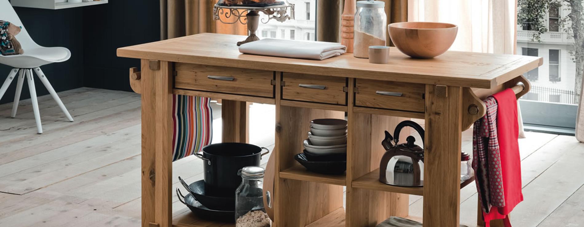 Tavolo isola altacorte centro mobili for Tavolo cucina isola