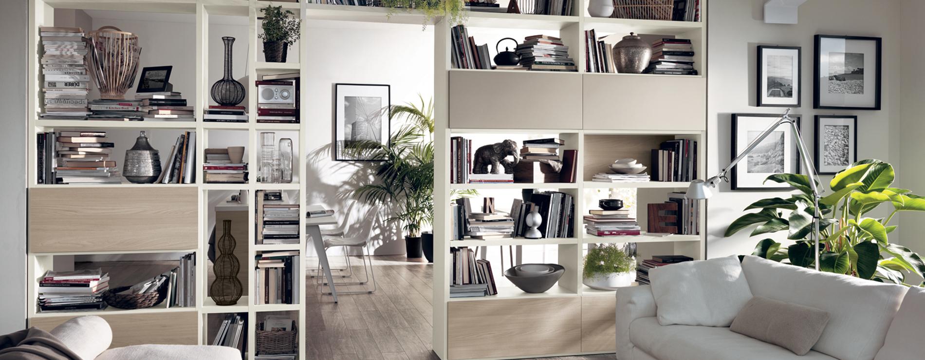 Soggiorni scavolini per arredare un perfetto open space for Concetti di soggiorno