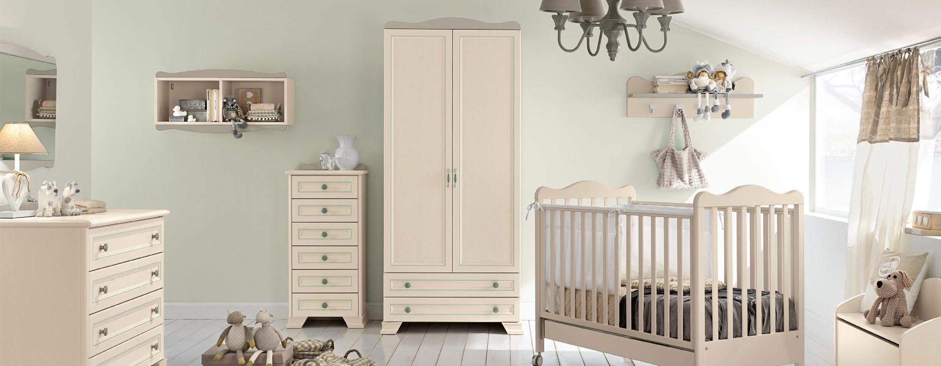... praticità e colore: il mix perfetto per la cameretta del vostro bebè