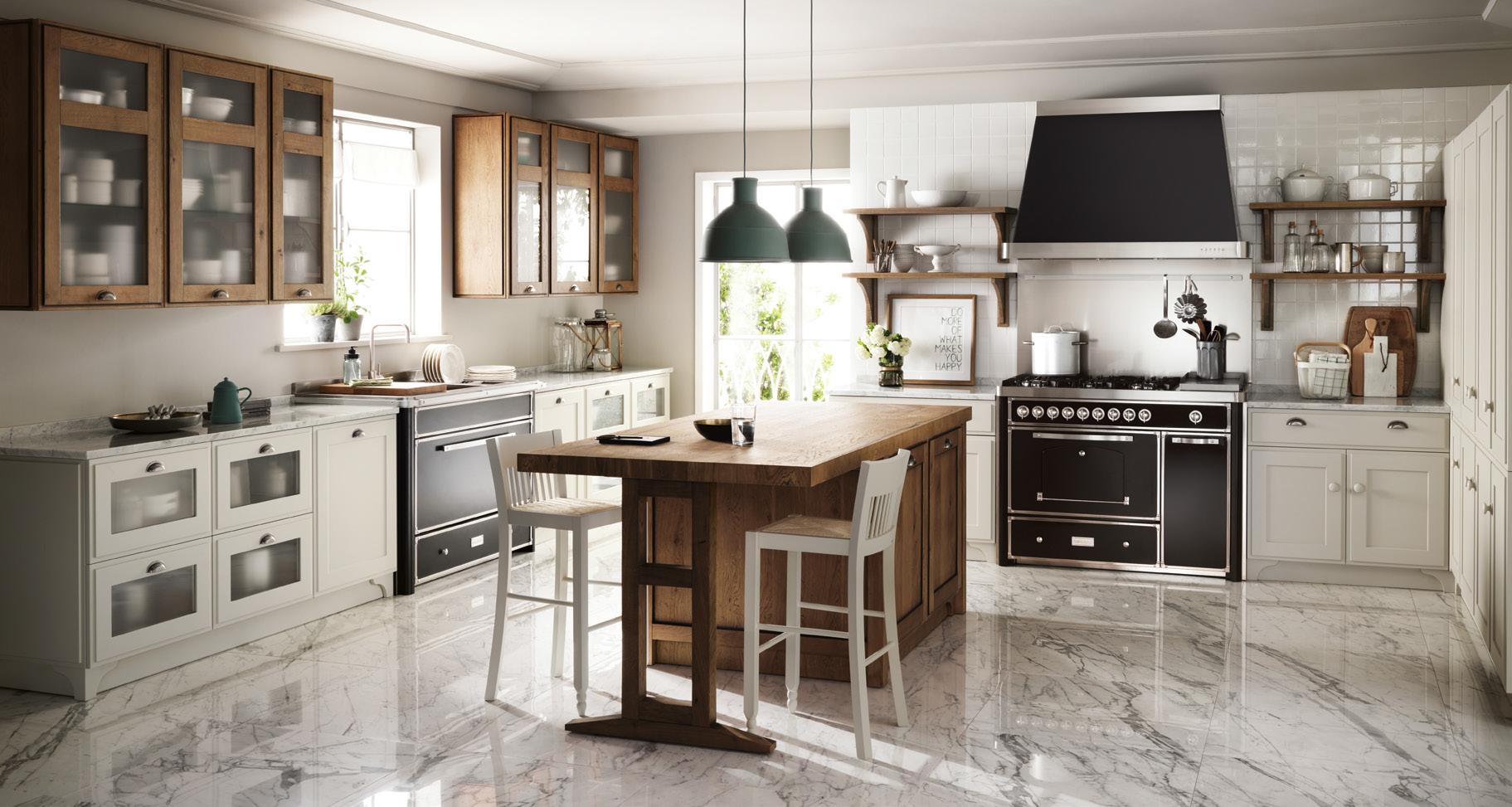 ... forma in un progetto raffinato, la cucina Favilla di Scavolini