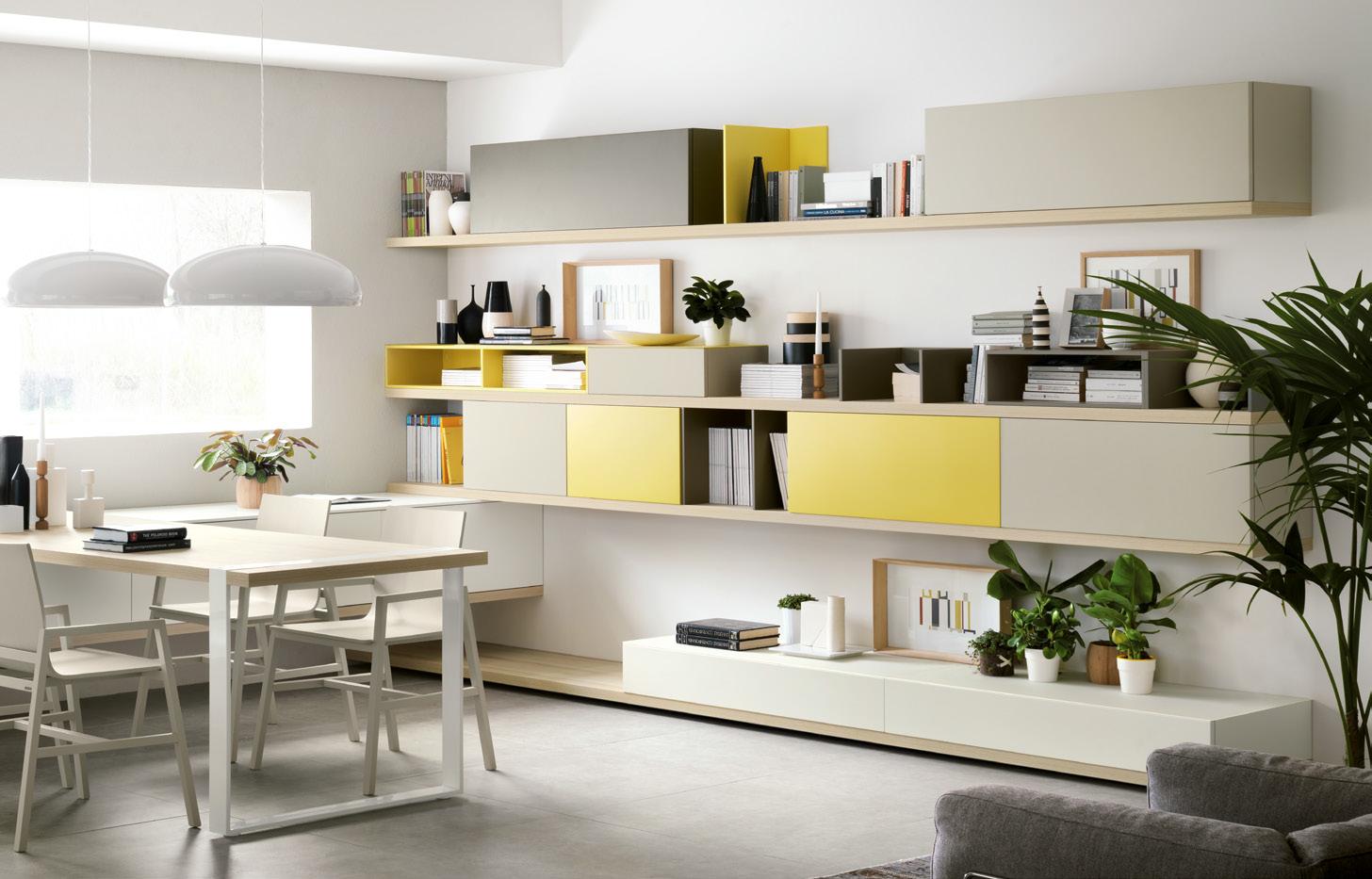 cucina foodshelf - centro mobili - Armadietti Della Cucina Idee Progettuali