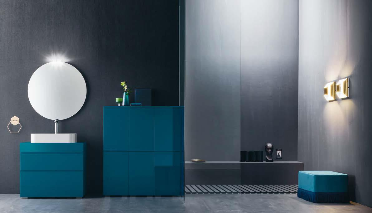 arredo bagno - mobili bagno - centro mobili godiasco salice terme pv - Bagni Moderni Blu