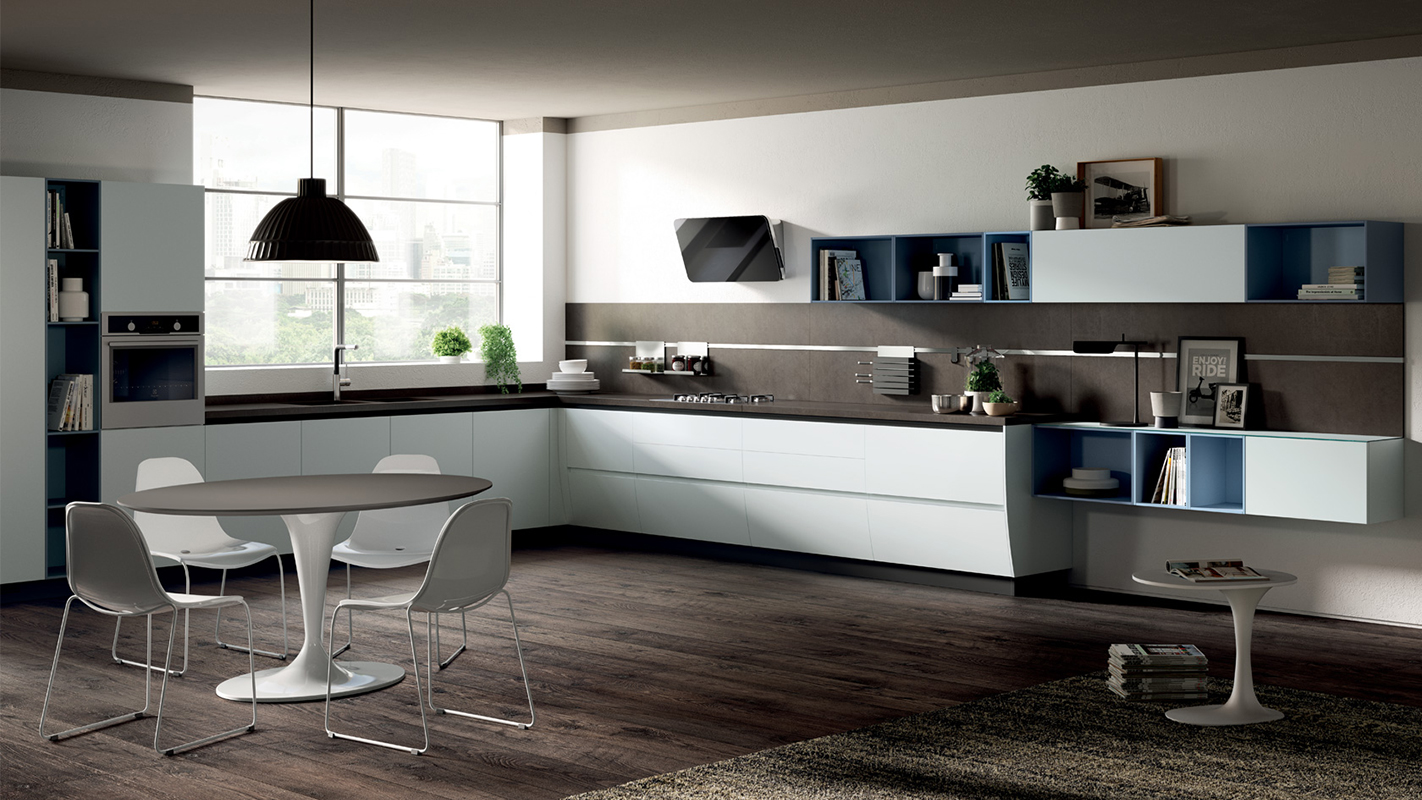 Beautiful Cucina Ad Angolo Moderna Contemporary - Design & Ideas ...