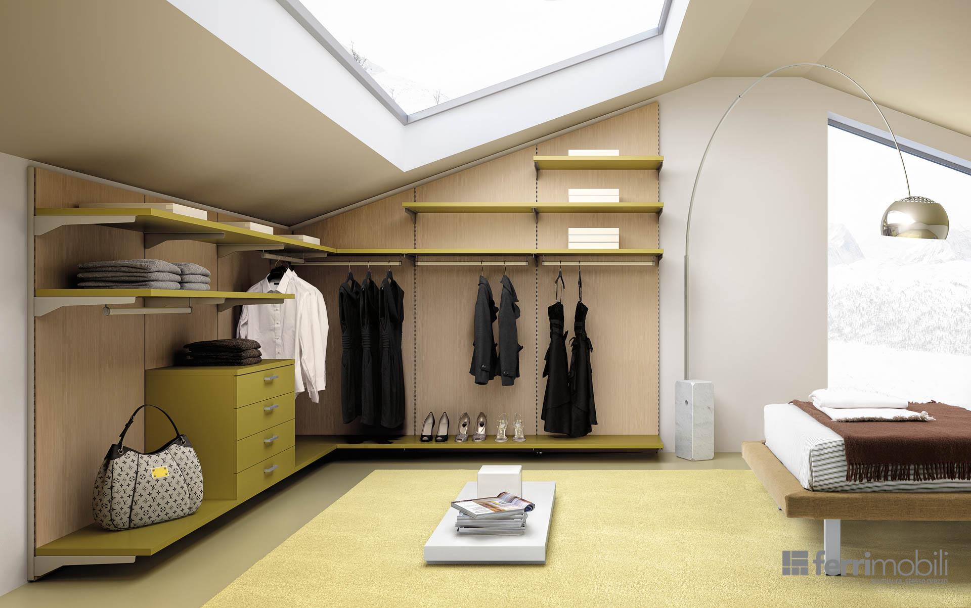 Cabina armadio 44 ferri mobili centro mobili - Cabine armadio moderne ikea ...