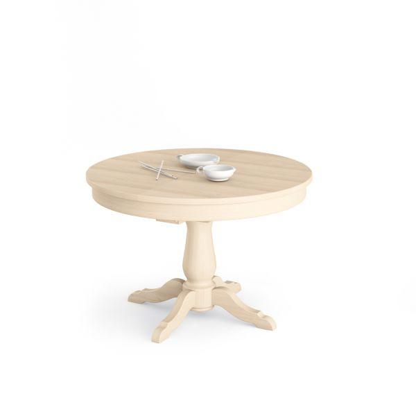Tavolo rotondo allungabile scandola centro mobili for Tavolo rotondo e sedie