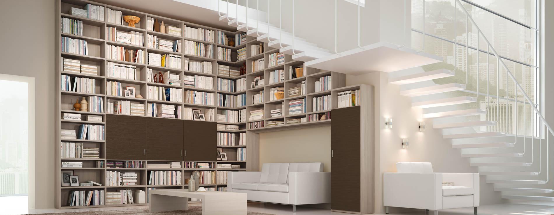 Libreria 71 ferri mobili centro mobili godiasco pavia - Centro italiano mobili ...