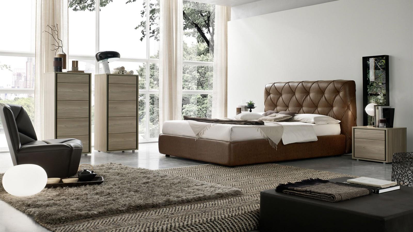 Letto matisse orme letto matrimoniale centro mobili for Arredamento camera letto
