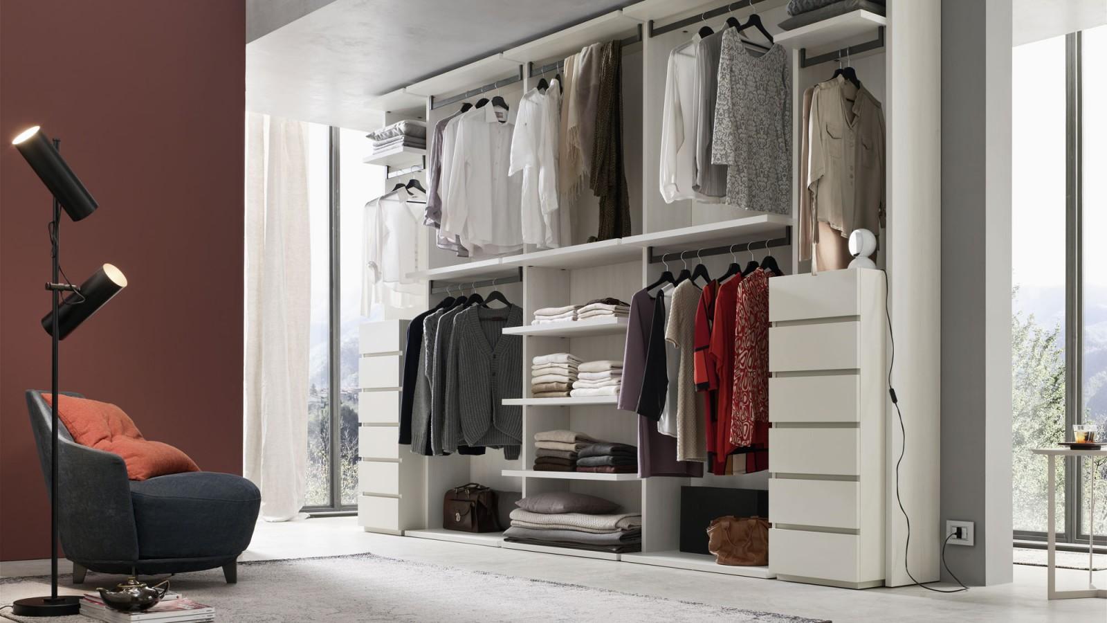 Cabina armadio flexi orme centro mobili godiasco - Mobili per cabina armadio ...