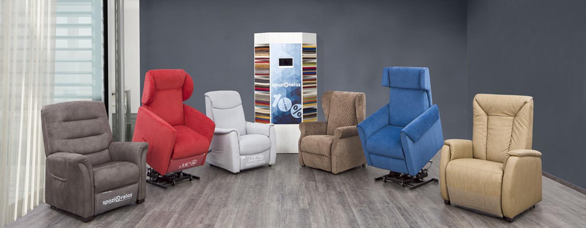 Poltrone relax spazio relax poltrone automatiche - Centro italiano mobili ...