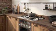 Cucina Sax Scavolini spazio cottura