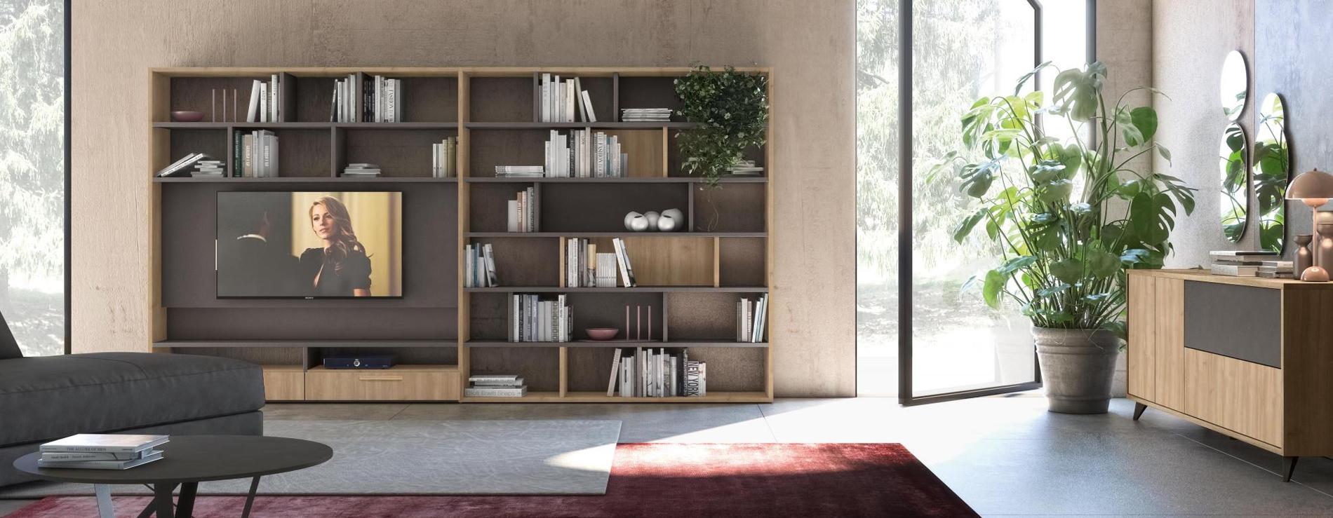 Librerie - Mobili soggiorno - Centro Mobili - Godiasco Salice Terme
