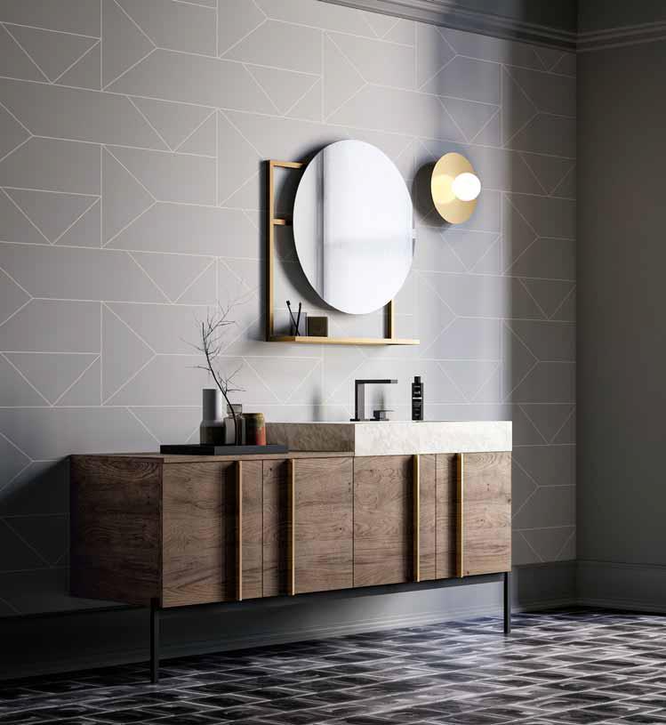 Bagno sidero di birex centro mobili godiasco salice terme - Comporre un bagno ...