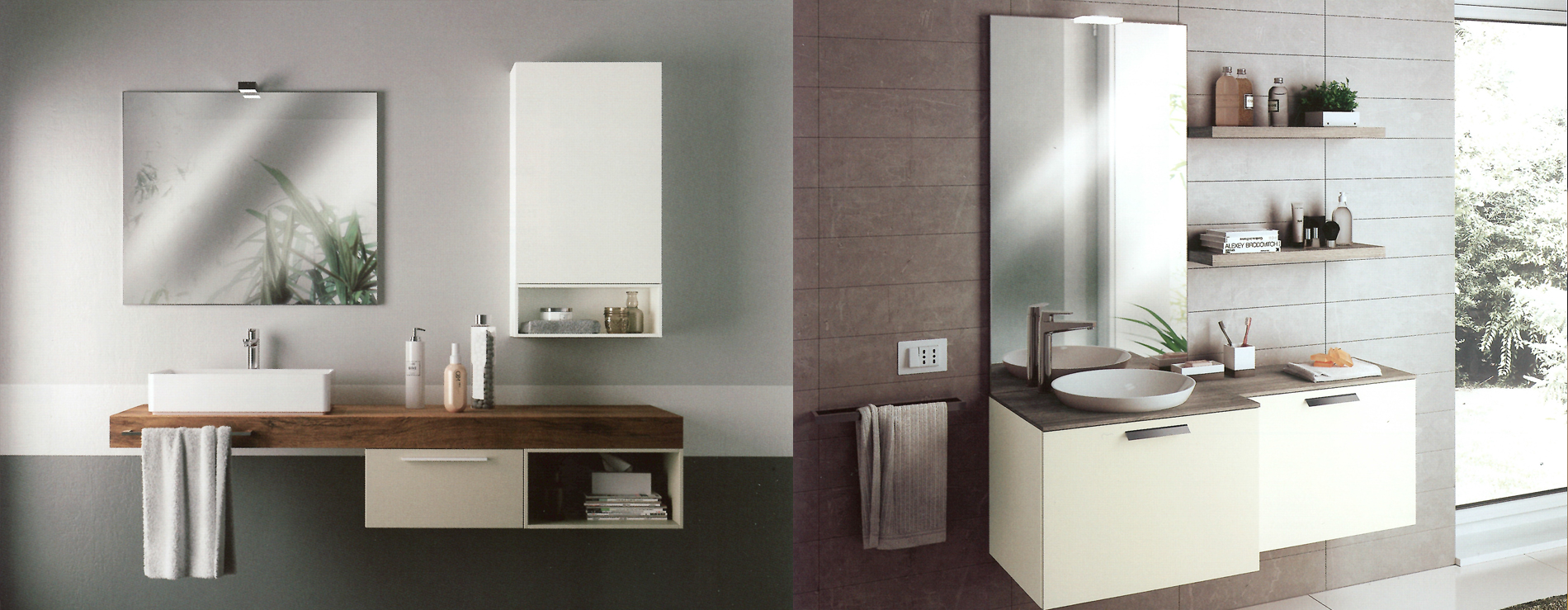 Mobili bagno piccoli spazi prfrence bagni moderni piccoli for Piccoli mobili da bagno