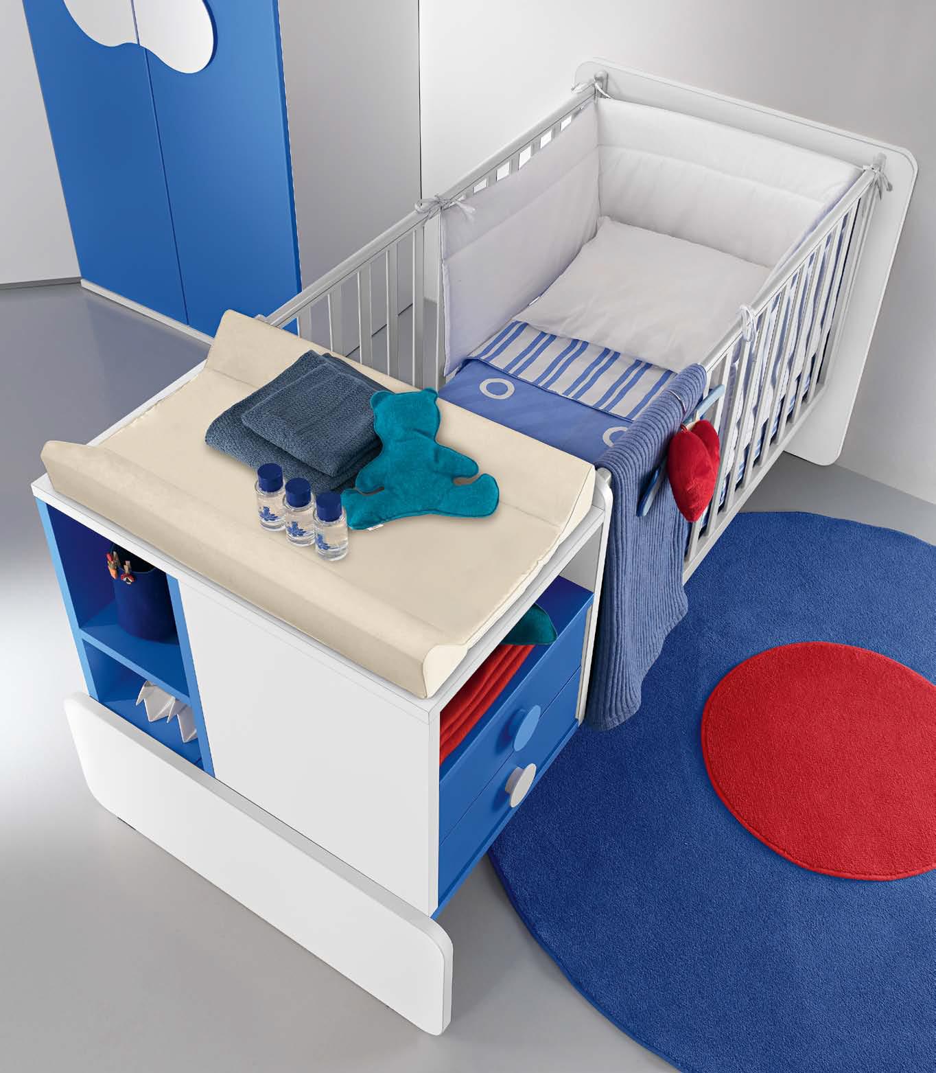 Culle e fasciatoi per la cameretta del vostro bambino - Centro Mobili