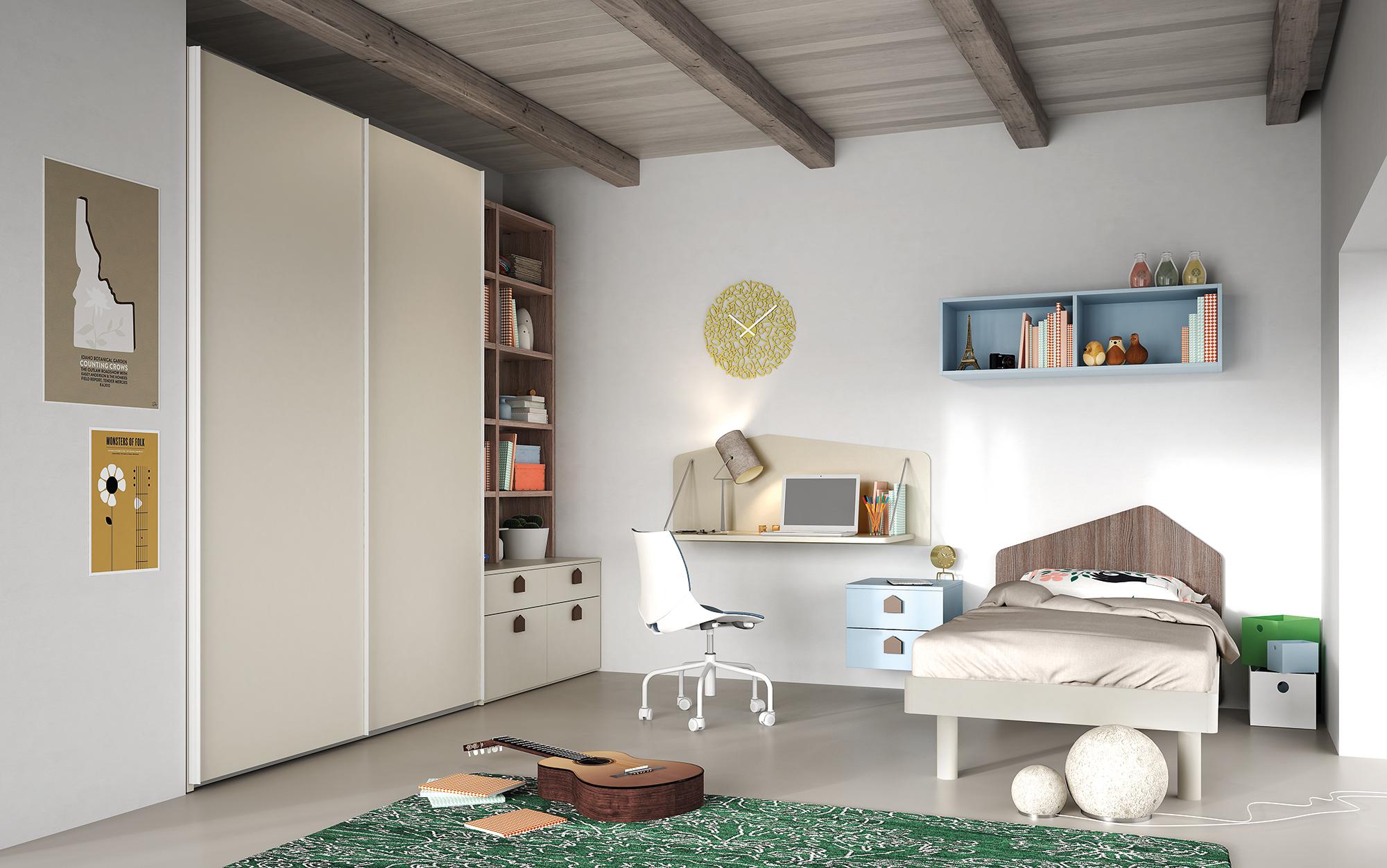 Cameretta evo mistral centro mobili for Centro italiano mobili
