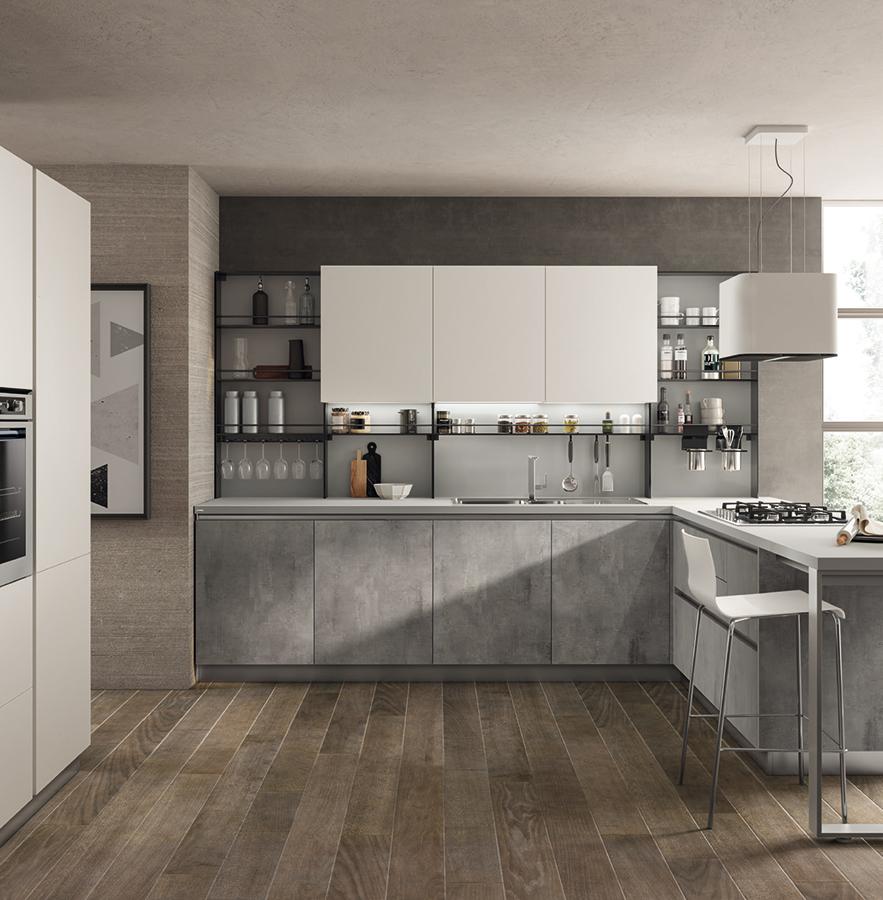 Cucina Evolution - Scavolini - Centro Mobili Godiasco Salice Terme