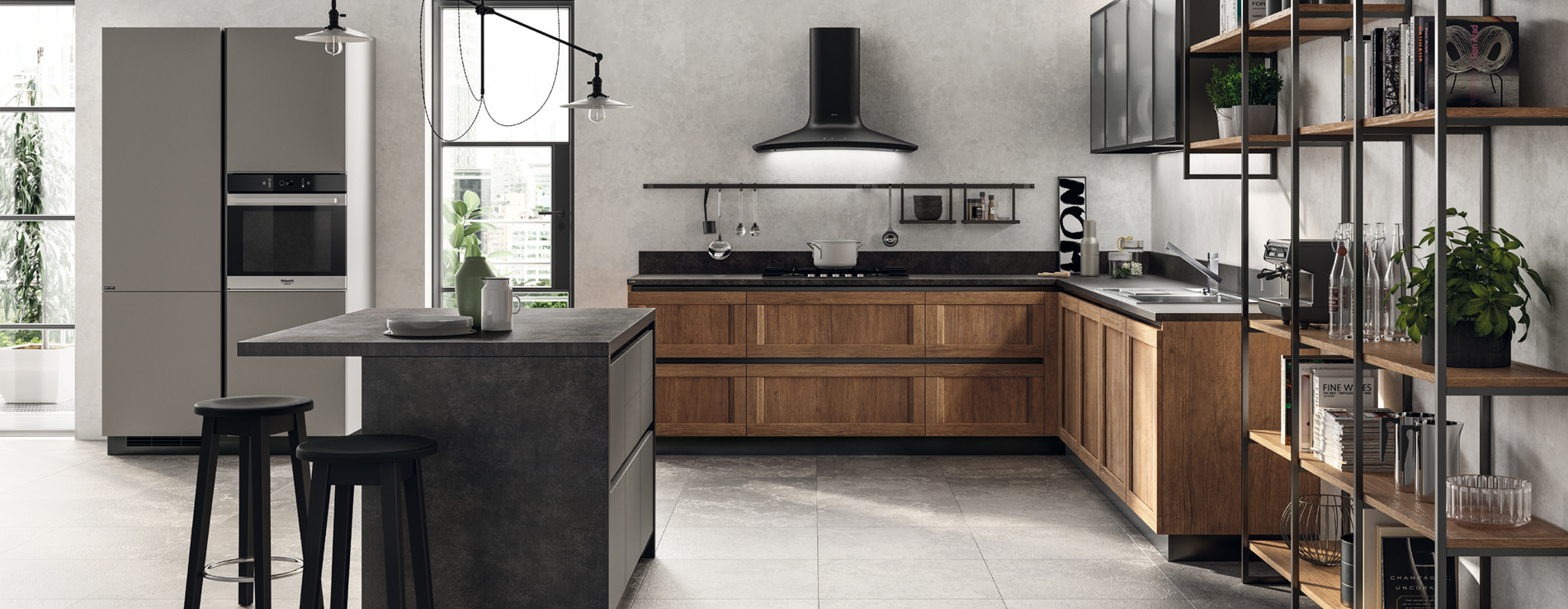cucina scavolini evolution 218