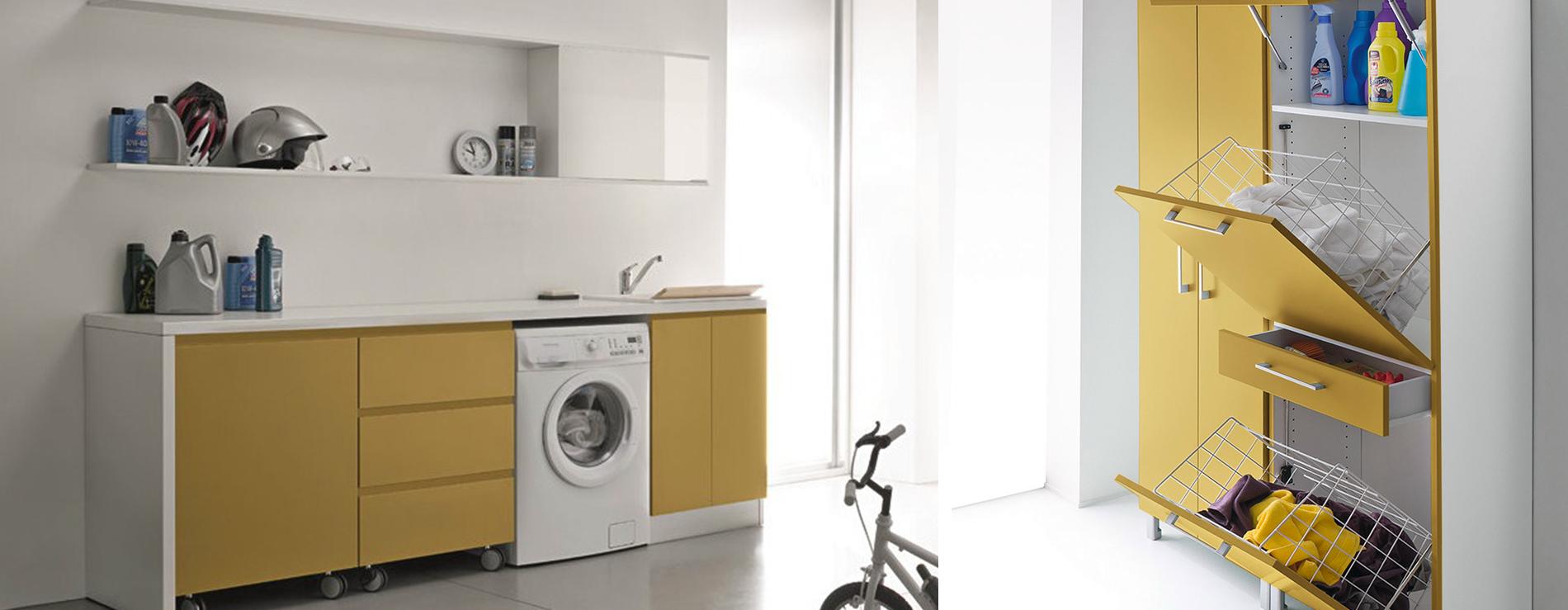 Idrobox birex centro mobili for Arredo per lavanderia di casa