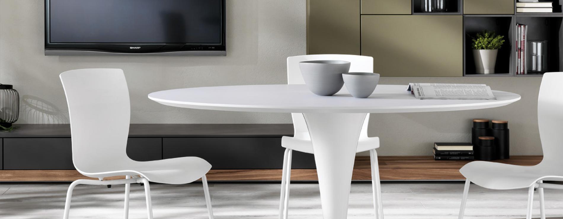 nomo tavolo rotondo scavolini centro mobili