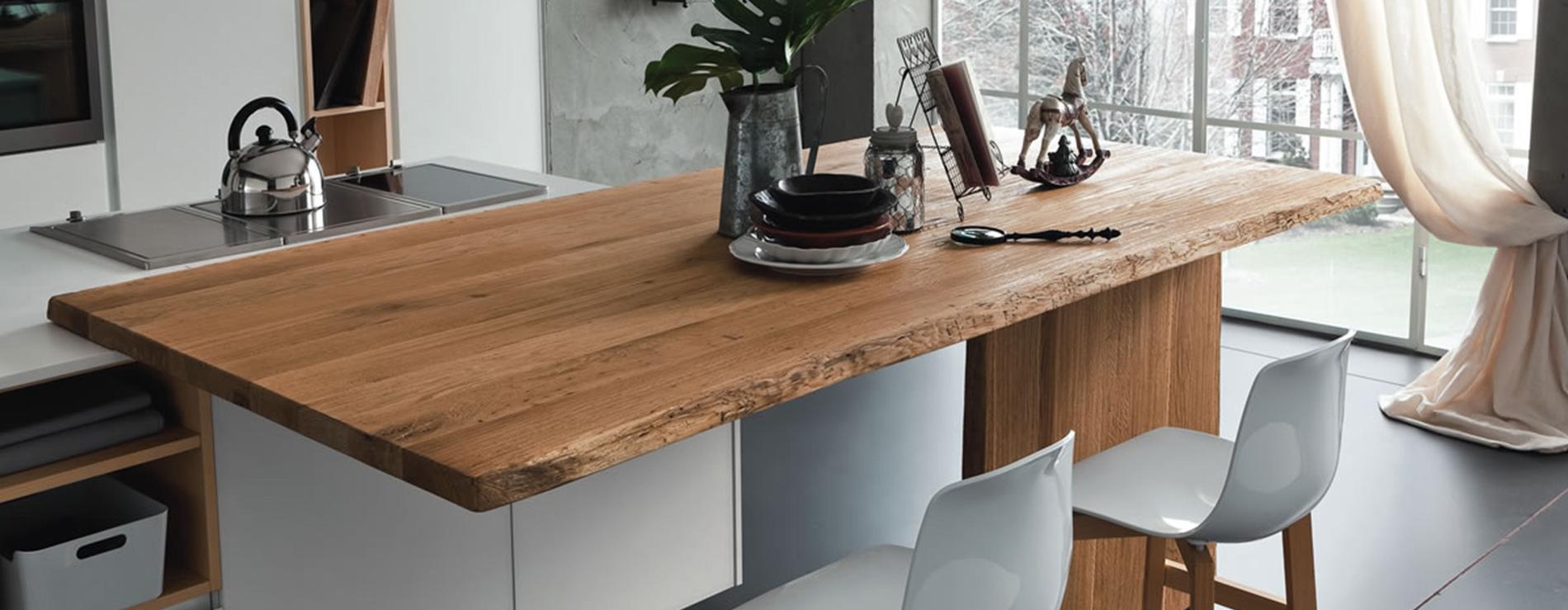 Tavolo penisola altacorte centro mobili - Tavolo con sedie per cucina ...