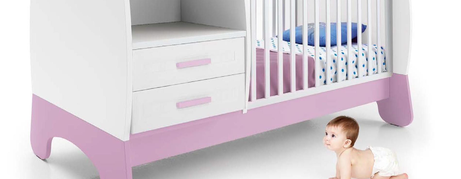 Lettini trasformabili per neonati Estro - Colombini
