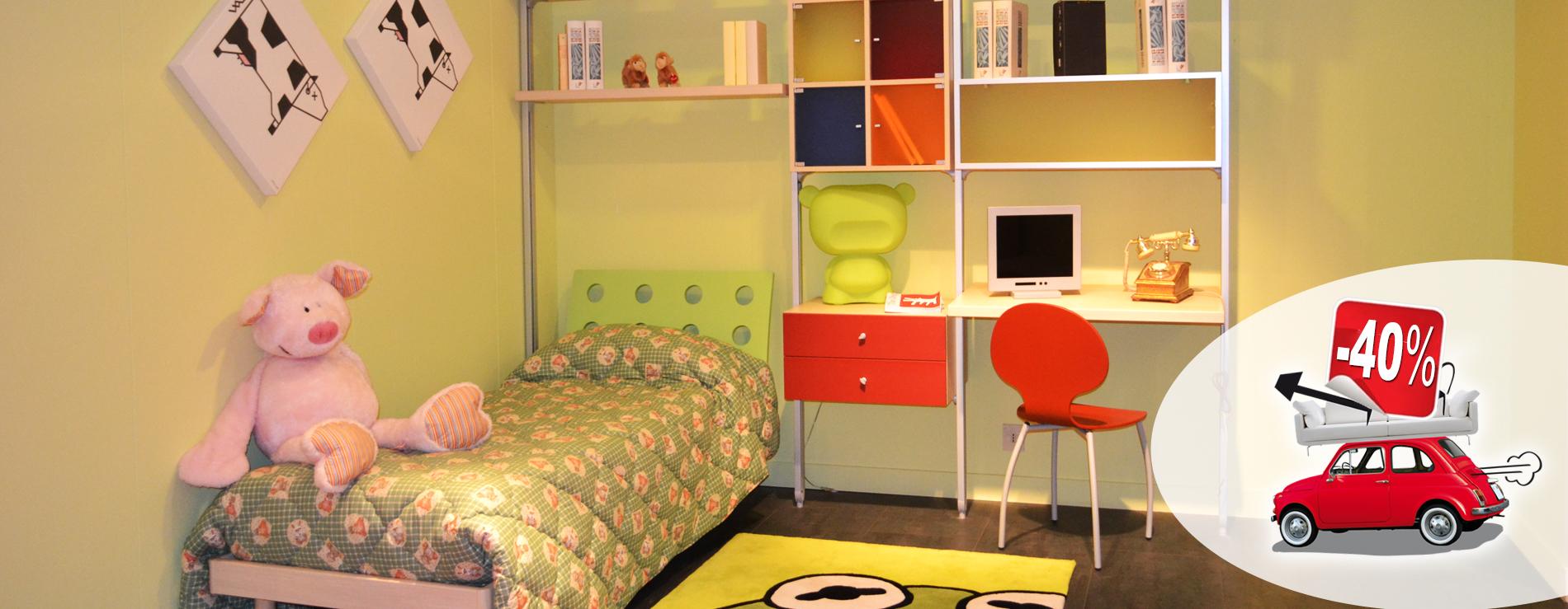 Cameretta in promozione centro mobili for Centro italiano mobili