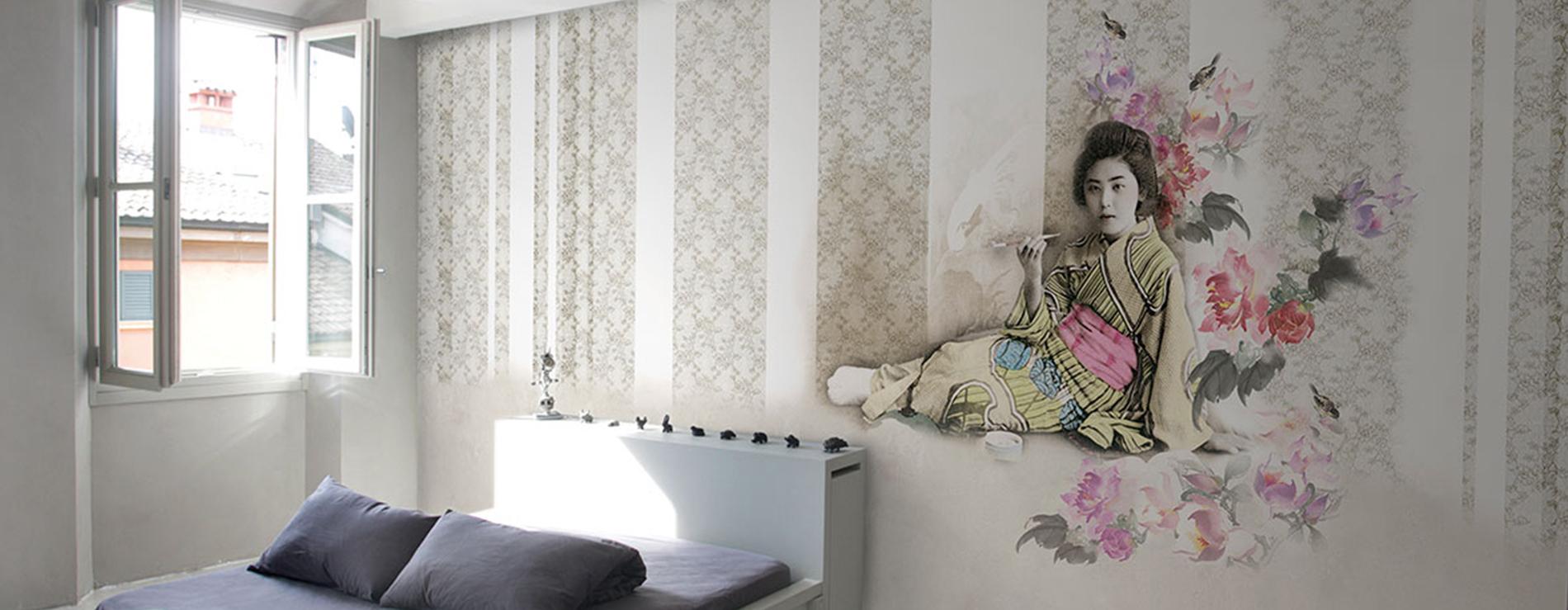 Carta da parati kira glamora centro mobili - Ikea carta parati ...