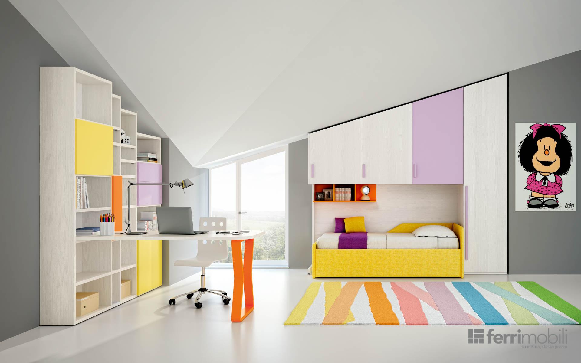 Composizione 601 ferri mobili centro mobili godiasco for Centro italiano mobili