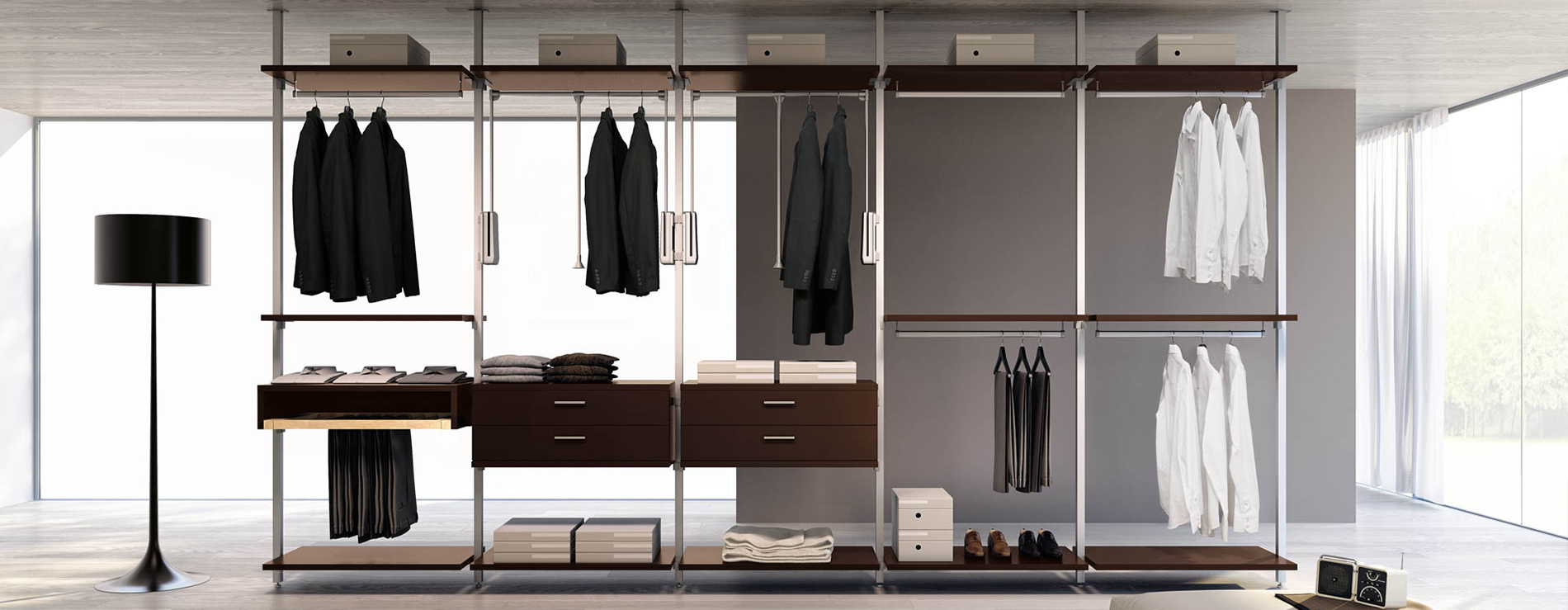 Cabina armadio 51 ferri mobili centro mobili - Mobili per cabina armadio ...