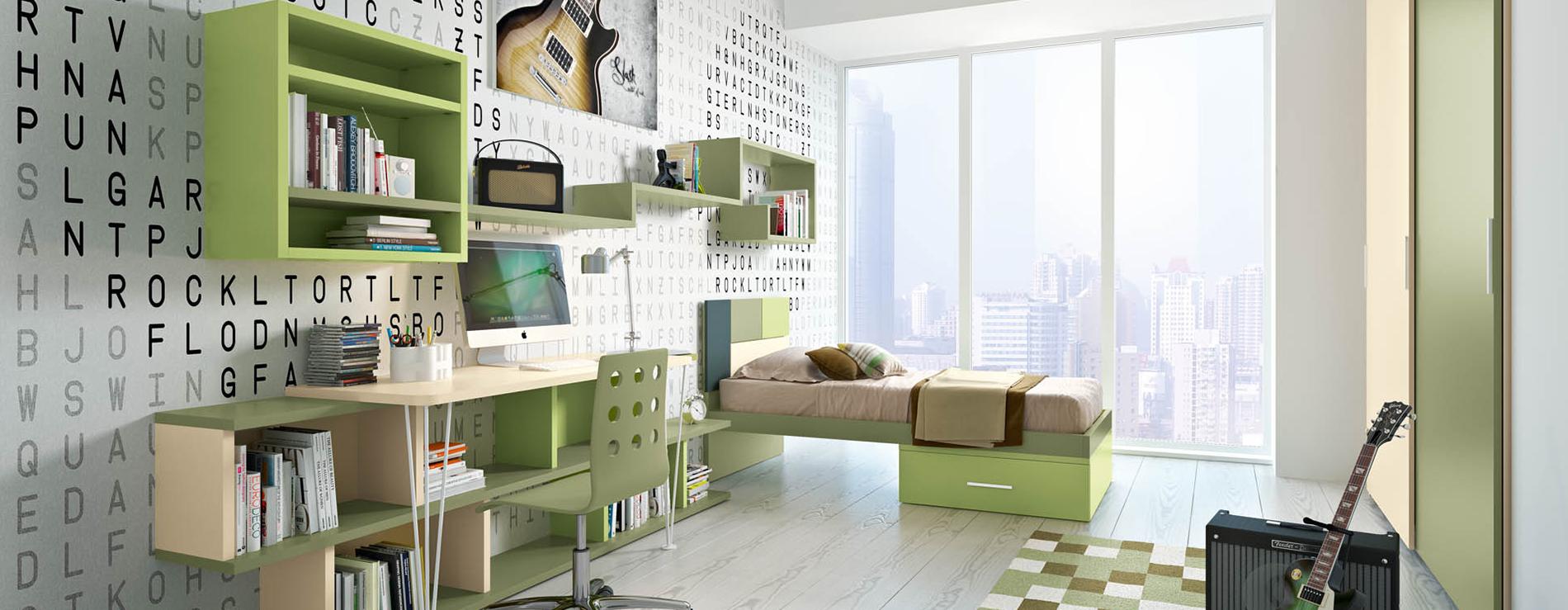 Cameretta composizione 810 ferri mobili centro mobili - Centro italiano mobili ...