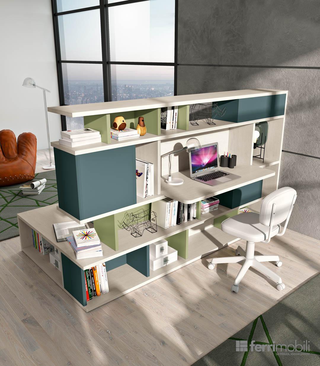 Composizione 821 ferri mobili centro mobili godiasco for Centro italiano mobili