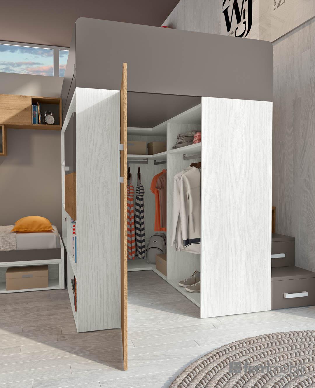Composizione 906 ferri mobili centro mobili godiasco - L onorevole con l amante sotto il letto ...