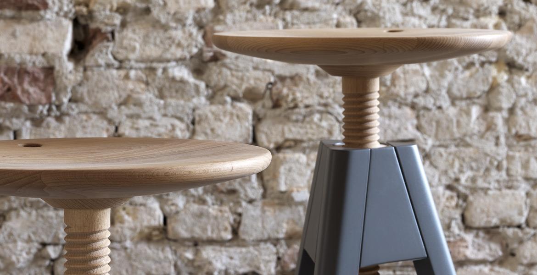 Complementi Darredo Miniforms By Paolo Cappello : Sgabello vitos miniforms centro mobili godiasco