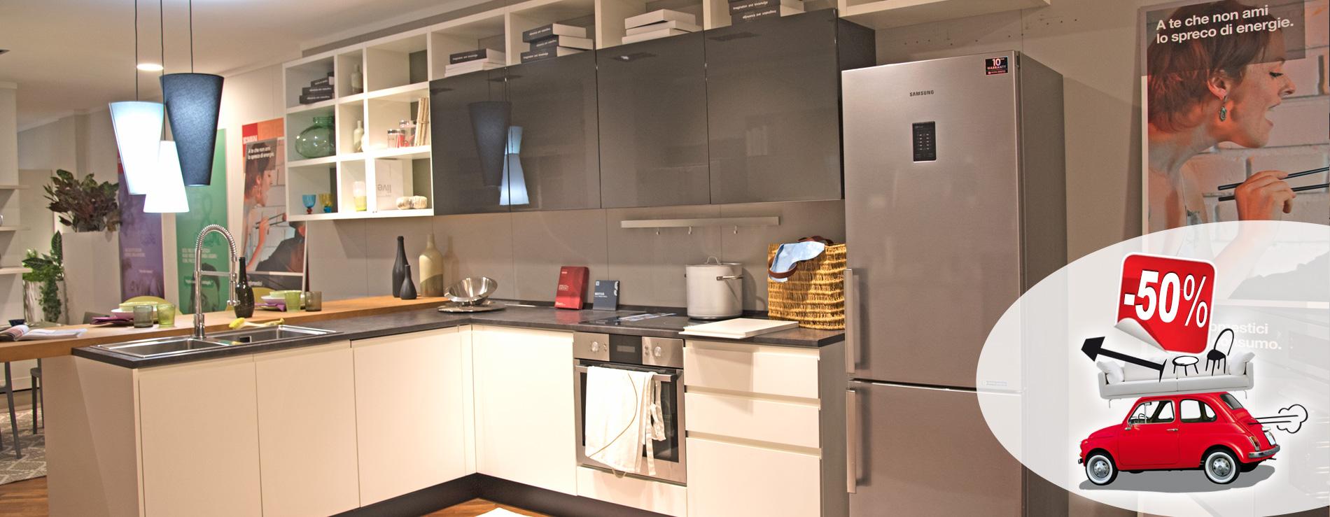 Cucina Motus Scavolini in promozione al 50%