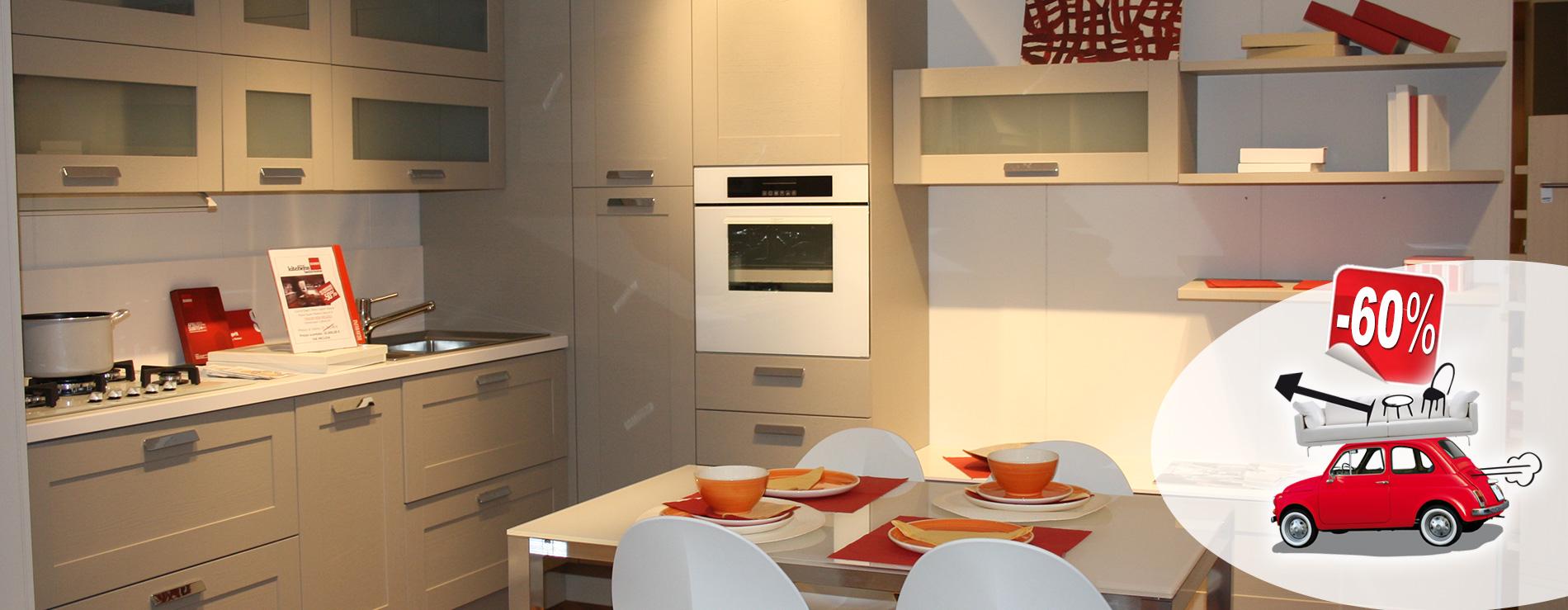Cucina Open Scavolini in promozione al 55%