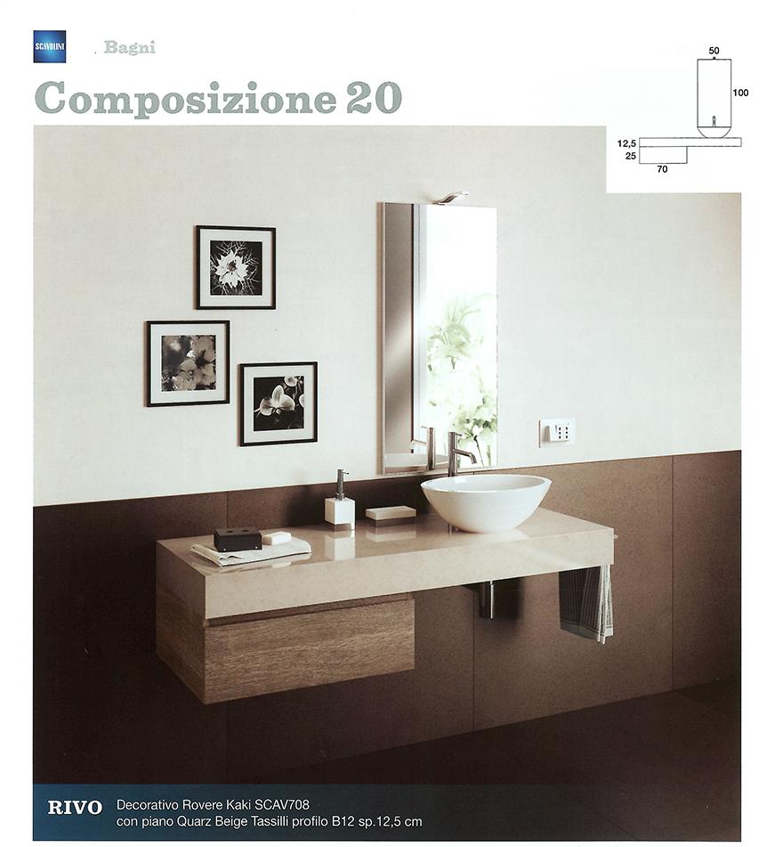 Bagni monoblocco scavolini scavolini per piccolo bagno centro mobili - Arredo bagno pozzuoli ...