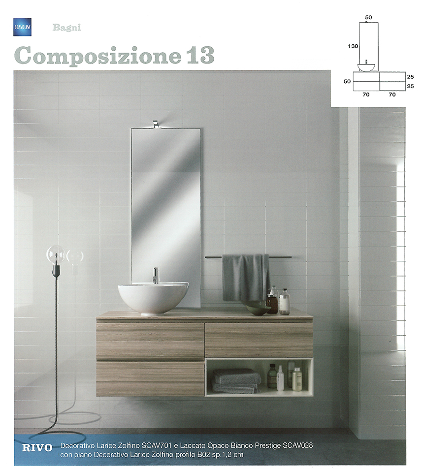 Bagni monoblocco scavolini scavolini per piccolo bagno centro mobili - Armadi per bagno ...