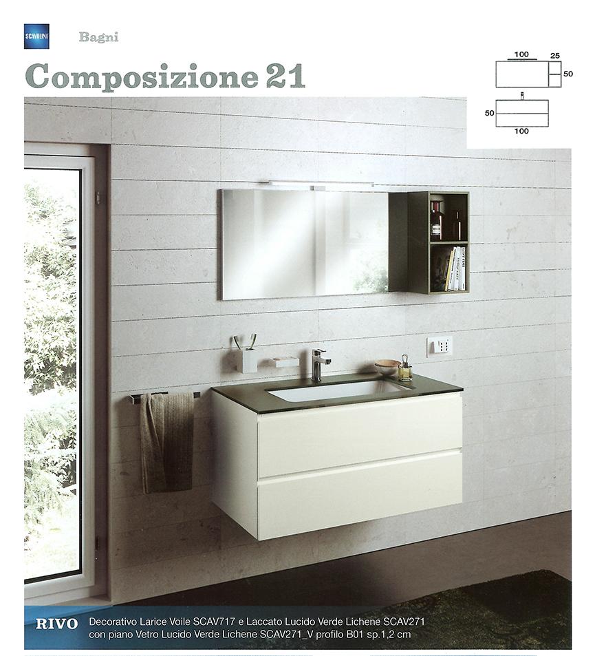 Bagni monoblocco scavolini scavolini per piccolo bagno - Mobili per bagno piccolo ...