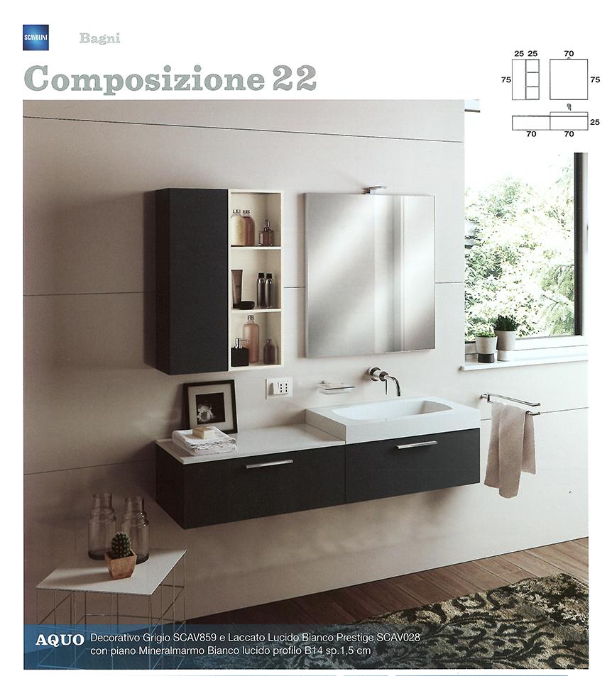 Bagni monoblocco scavolini scavolini per piccolo bagno for Mobili bagni prezzi