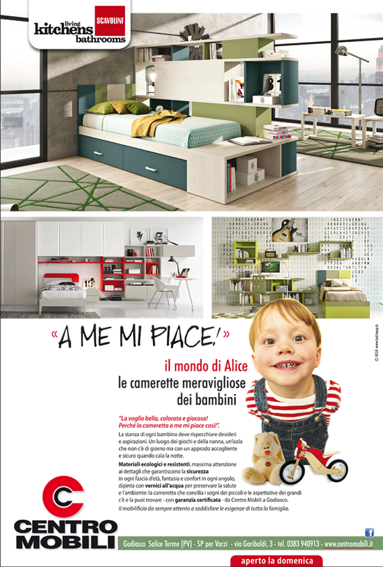 "Lightbox Centro Mobili ""A Me Mi Piace"""